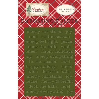 Carta Bella Christmas - Merry Christmas