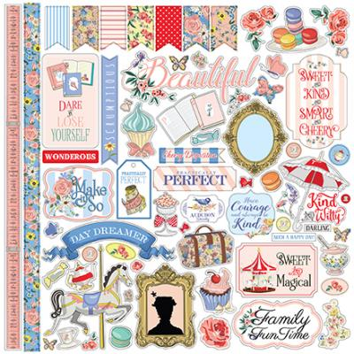 Carta Bella Practically Perfect - Element Sticker