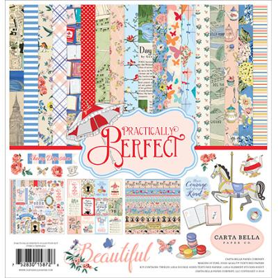 Carta Bella Practically Perfect Designpapier - Collection Kit