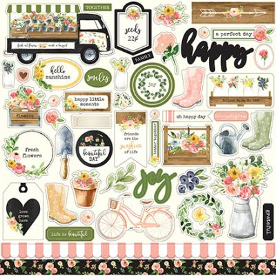 Carta Bella Spring Market - Element Sticker
