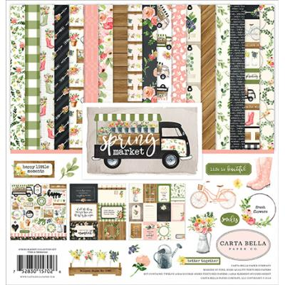 Carta Bella Spring Market Designpapier - Collection Kit