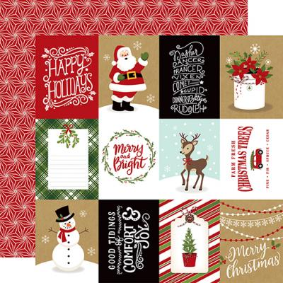Echo Park Celebrate Christmas - 3x4 Journaling Cards