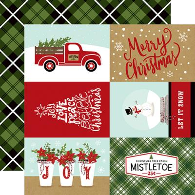 Echo Park Celebrate Christmas - 4x6 Journaling Cards