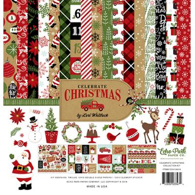 Echo Park Celebrate Christmas - Collection Kit