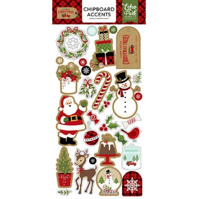 Echo Park Celebrate Christmas - Chipboard Accents
