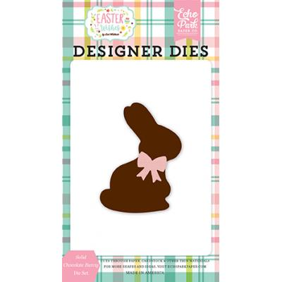 Echo Park Easter Wishes - Solid Chocolate Bunny