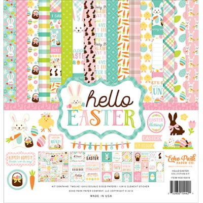 Echo Park Hello Easter Collection Kit 12 x 12 Inch
