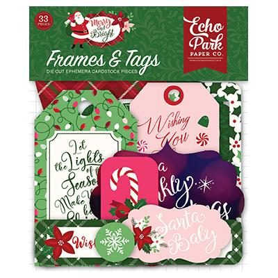 Echo Park Merry & Bright - Frames & Tags