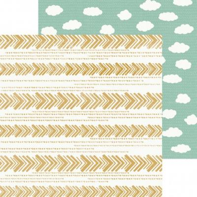 Kaisercraft Paper 30,5 x 30,5 cm Hide & Seek Clouds Designpapier
