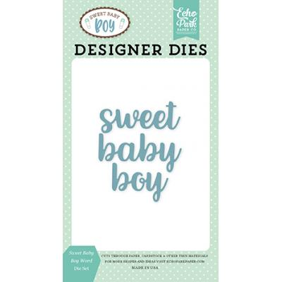 Echo Park Sweet Baby Boy Stanzschablonen-Set