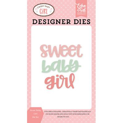 Echo Park Sweet Baby Girl Stanzschablonen-Set