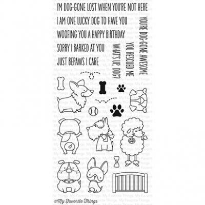 My Favorite Things Clear Stamp Lucky Dog