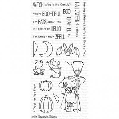 My Favorite Things Clear Stamp Witch Way Is the Candy?