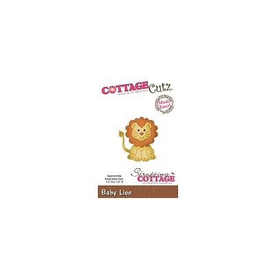 Stanzschablone Baby Lion CottageCutz - Scrapping Cottage