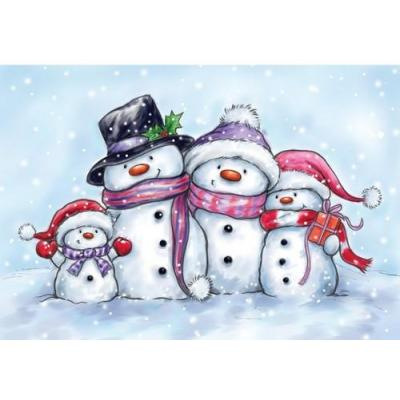 Wild Rose Studio`s A7 Stamp Set Snowman